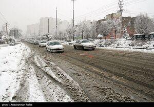 فیلم/ بارش برف سنگین در پایتخت