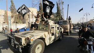 نقشه حضور تروریستهای داعشی در عراق