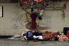 مرگ ۷۲۶ بیخانمان در خیابانهای انگلیس طی یکسال