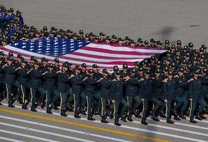 ماجرای عکس پرچم آمریکا در رژه پلیس چه بود؟