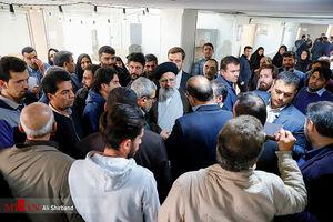 بازدید «بی هوا»ی رئیس قوه قضاییه از جنوب تهران