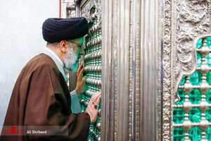 عکس/ حضور حجتالاسلام رئیسی در امامزاده شهر پیشوا