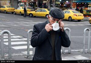 عکس/ هوای تهران بسی ناجوانمردانه خطرناک است