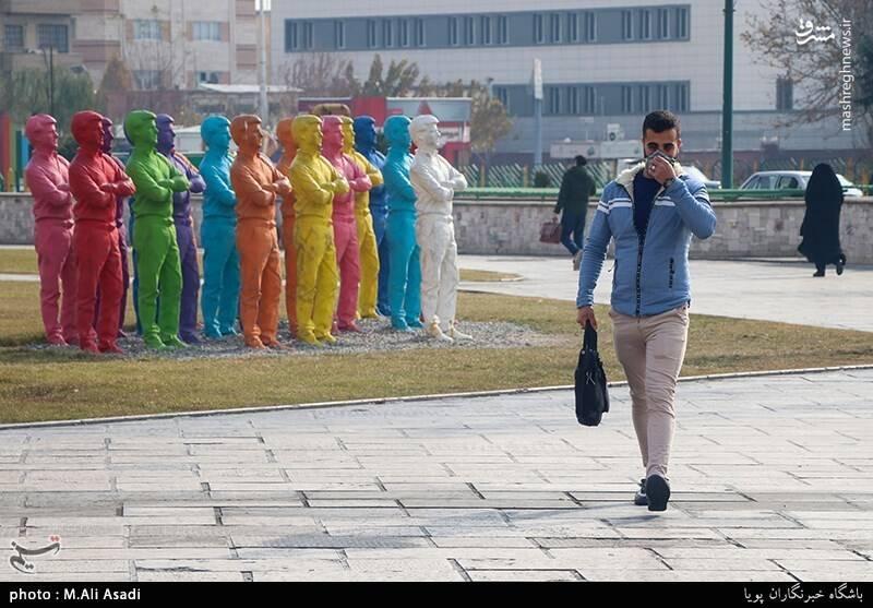 کس/ هوای تهران بسی ناجوانمردانه