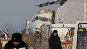 عکس/ سانحه هوایی مرگبار در قزاقستان