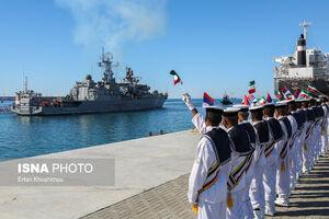 عکس/ رزمایش مشترک کمربند امنیت دریایی در چابهار