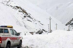 یک فوتی و یک مصدوم در ریزش بهمن توچال