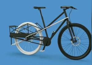 تبدیل ساده دوچرخه به وسیلهای برای حمل بار