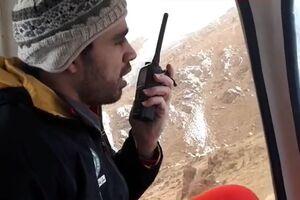 فیلم/ عملیات نجات مصدومان ریزش بهمن در ارتفاعات توچال