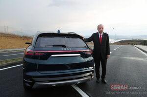 عکس/ رونمایی اردوغان از خودرو ملی