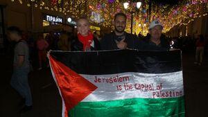 """سیلی محکم به صهیونیستها با دیپلماسی ورزش/ فریاد """"فلسطین فلسطین"""" در جهان فوتبال"""