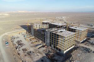 طرح بیمارستان خاتم قم، بهعنوان طرح برتر فولادی کشور انتخاب شد