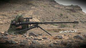 اقدام باور نکردنی تک تیرانداز یمنی در مرز عربستان/ نابودی دو زره پوش سعودی با شلیک تنها چند گلوله +فیلم
