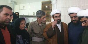 سازمان تبلیغات اسلامی هزینه معالجه والدین دو کولبر را تقبل کرد +عکس