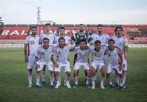 ترکیب تیم ملی امید ایران مقابل قطر