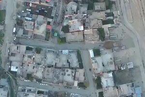 فیلم/ هدف قرار دادن مخفیگاه تروریستها در ادلب
