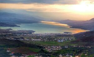 عکس/ نمایی زیبا از شهر منجیل