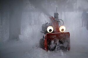 دستگاه برف روب کنترلی