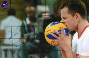 کریسمس آتشین ستاره والیبال لهستان +عکس