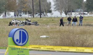 عکس/ سقوط مرگبار هواپیما در آمریکا