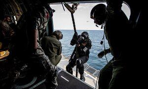 تمرین آزادسازی کشتی در رزمایش مشترک نداجا