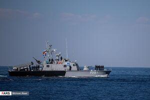 رژه دریایی رزمایش دریایی مرکب ایران، چین و روسیه
