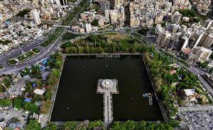 تصویر هوایی دیدنی از اِئل گُلی