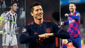 برترین گلزنان باشگاهی اروپا در فصل جاری