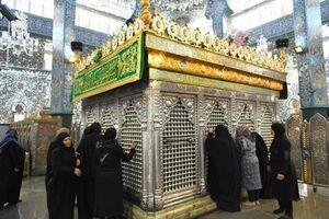 فیلم/ حالوهوای شب وفات حضرت زینب(س)در دمشق