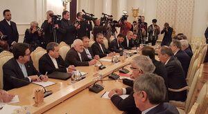 عکس/ دیدار وزیران امور خارجه ایران و روسیه