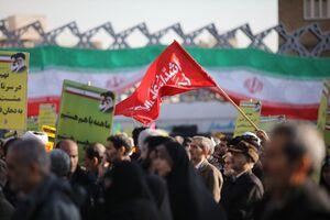 فیلم/ اجتماع بزرگ مردم بصیر و انقلابی تهران