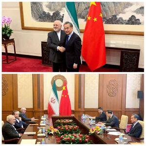 دیدار وزرای خارجه ایران و چین