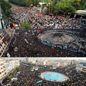 سه دهه حمایت مردم از انقلاب اسلامی +عکس