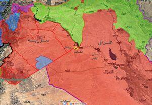 آخرین تحولات میدانی عراق؛ جزئیات حملات خمپارهای علیه پایگاههای آمریکایی + نقشه میدانی