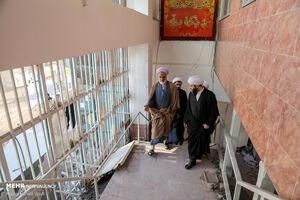 عکس/ سفر رئیس سازمان تبلیغات اسلامی به شهر قدس