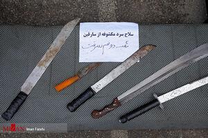 فیلم/ دستگیری سارقان مسلح در شهریار