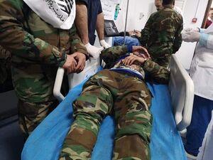 مجروحین تظاهرات مردم عراق مقابل سفارت آمریکا