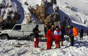 نجات جان یک کولبر در ارتفاعات اورامان