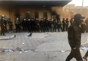 استقرار گسترده نیروهای امنیتی در بغداد +عکس
