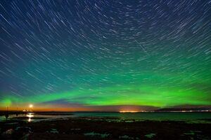 تصویر دیدنی از شفق قطبی