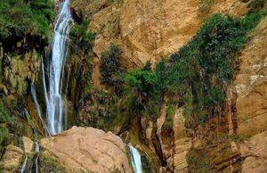 عکس/ آبشار زیبای نوژیان