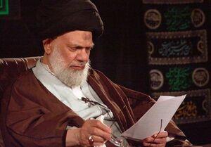 آیت الله سید کاظم حائری مرجع تقلید شیعیان
