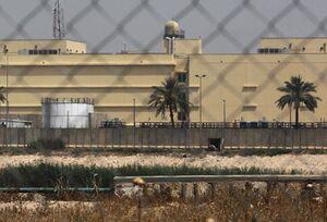 نگاهی به سفارتخانه ۴۲ هکتاری آمریکا در بغداد +عکس و فیلم