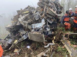 سقوط مرگبار بالگرد نظامی در تایوان