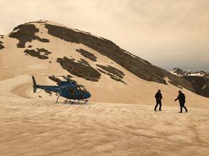 عکس/ تغییر رنگ یخچالهای طبیعی نیوزیلند