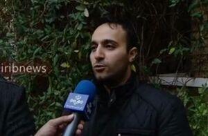 مصاحبه تلویزیونی فرزند  سرلشکر شهید سلیمانی