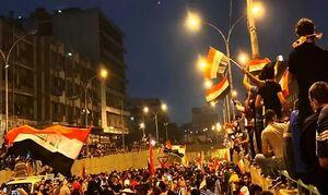 معترضان عراقی: تروریستهای آمریکایی را از عراق اخراج میکنیم