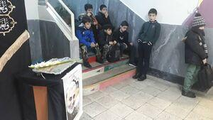 عکس/ حالوهوای یک  مدرسه در پی شهادت سردار سلیمانی