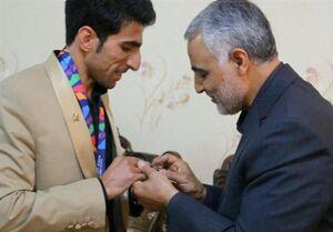 روایت قهرمان بازیهای پارالمپیک از اولین دیدار با سردار شهید قاسم سلیمانی