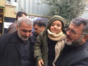 عکس/ خانواده شهید حججی در منزل سردار شهید سلیمانی